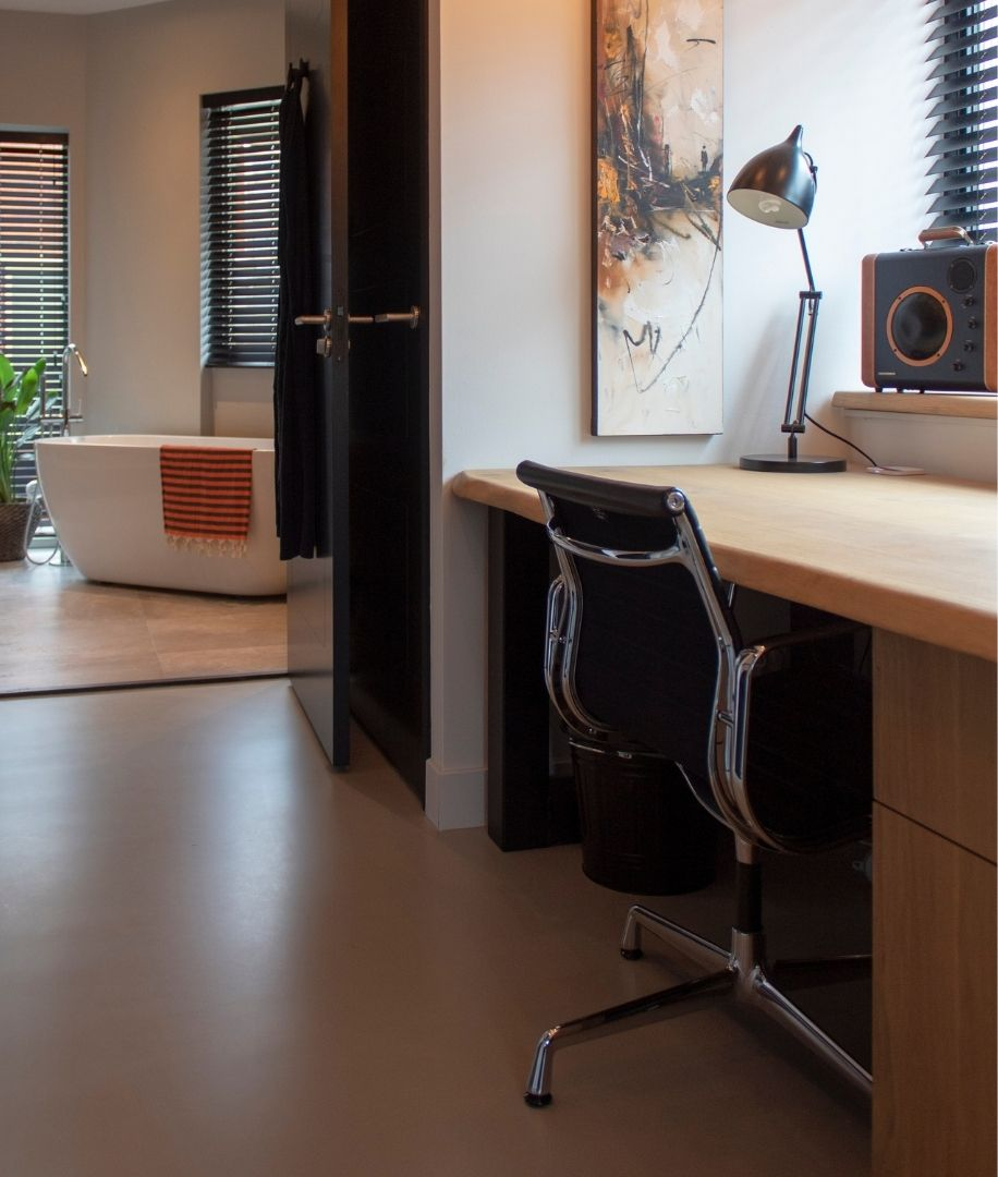 Gietvloer Amsterdam Project Houthaven