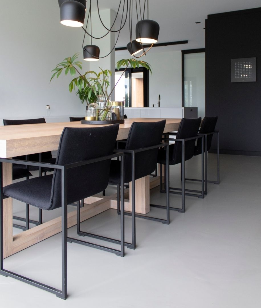 Gietvloer Dordrecht Project Modern Nieuwbouwhuis